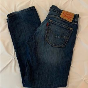 Men's Levi's 514 Jeans sz 30/30 dark wash